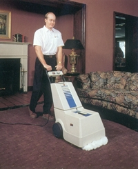Von Schreader Dry Foam Extraction Carpet Cleaning